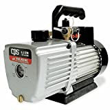 CPS Products VP2D Pro-Set Two Stage Vacuum Pump, 2 cfm, 10 micron