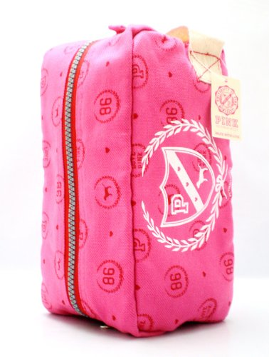 Victoria s Secret Pink Dog Cosmetic Bag Color Pink