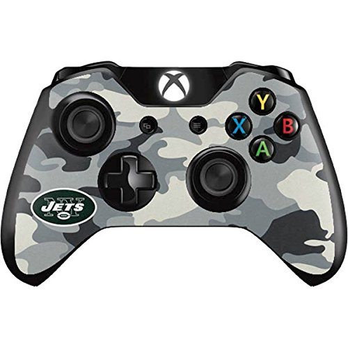 Skinit New York Jets Camo Xbox One Controller Skin - Officially Licensed NFL Gaming Decal - Ultra Thin, Lightweight Vinyl Decal -