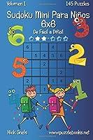 Sudoku Mini Para Niños 6x6 - De Fácil A