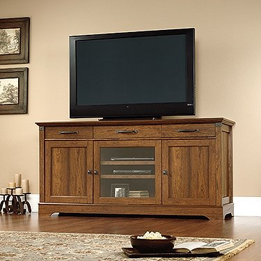 Long Buffet (Sauder Carson Forge Tv Stand In Washington Cherry)