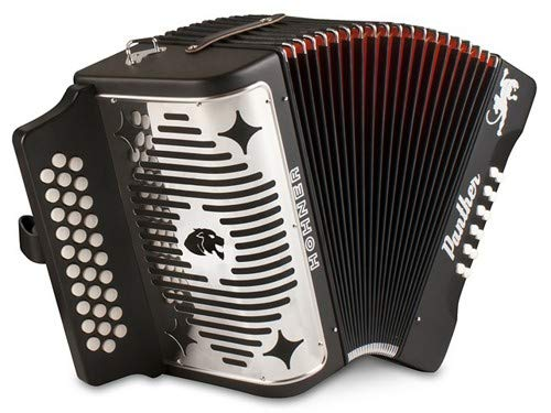 Hohner 3100FB, Panther, 3-Row FBE Diatonic Accordion by Hohner Accordions