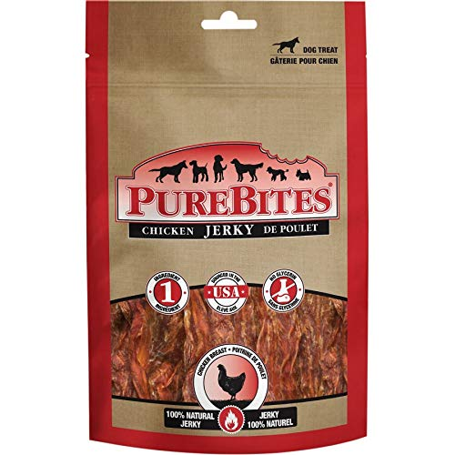 PureBites Chicken Jerky Dog Treats (12 Pack)