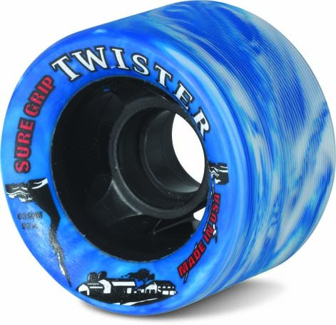 Sure-Grip Twister Wheels - white/blue