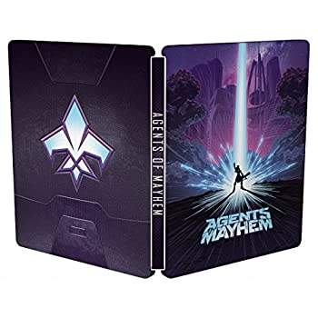 Agents Of Mayhem Day One Steelbook [PS4]/[XO]