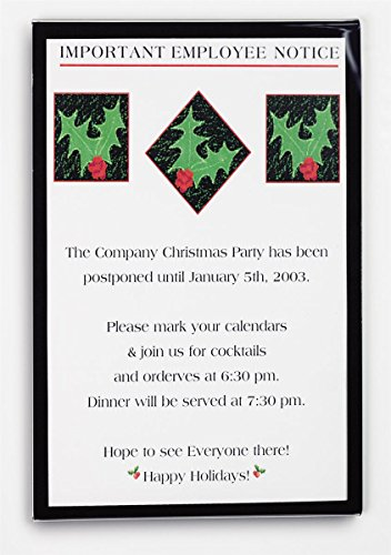 (Set of 10, Wall Mounted Sign Holders for 11 x 17 Graphics, Clear Acrylic Poster Frames Black Silkscreened Border, Slide-in Design, Mounting Hardware Included )