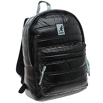 Amazon.com  Kangol Padded Backpack Fun Colours Europe style (BLACK)   Clothing 4c356605ac2b7