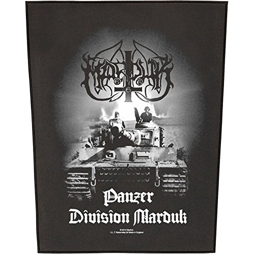XLG Marduk Panzer Division Back Patch Album Art Black Metal Band Sew On Applique