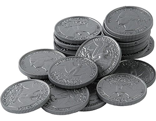 Teacher Created Resources Play Money: Quarters (TCR20656)