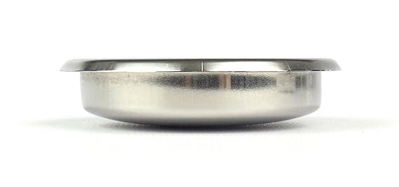 EDESIA ESPRESS - Filtro ciego para el retrolavado de cafeteras exprés - Universal - Acero inoxidable: Amazon.es: Hogar