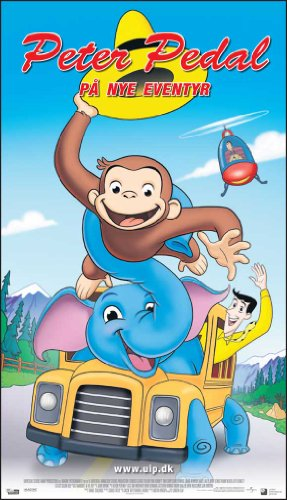 Curious George 2: Follow That Monkey Movie Poster (20 x 40 Inches - 51cm x 102cm) (2009) Denmark -(Martin Brygmann)(Henning Moritzen)(Kaya Brüel)(Laus Høybye)