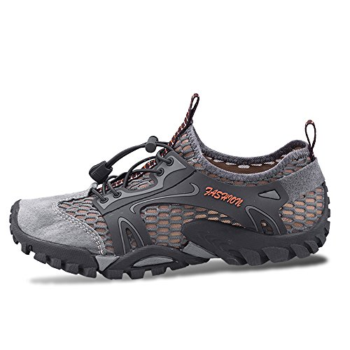 Water Dry River Shoes Aqua Kayaking Women Bed Beach Camp Quick Shoes Boatting Men SITAILE Walking Gray for xw7tgXqWEx