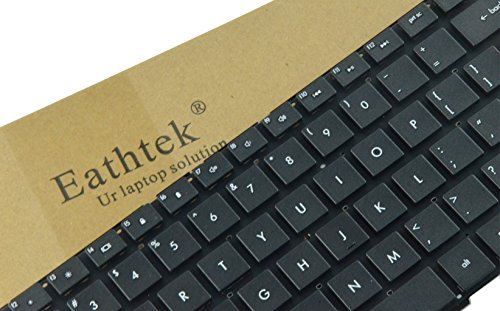 Eathtek New Laptop Keyboard for HP ProBook 4530S 4535S 4730S series Black US Layout