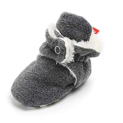 Isbasic Unisex Fleece Bootie Non Skid