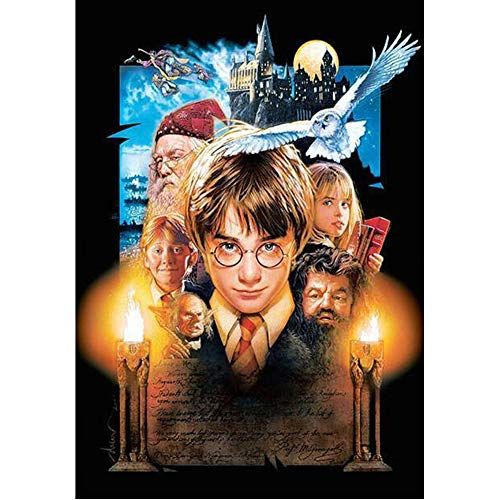 5D Diamond Painting by Number Kit, Full Drill Wall Décor Harry Potter