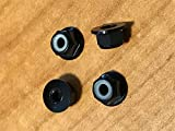 New 4MM Aluminum Black Locknuts Traxxas Slash Rustler Stampede XL5 VXL 4 Pack