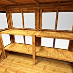 POWER-6x6-Pent-Potting-Shed-6-x-6-Wooden-Garden-Greenhouse-Super-Fast-Delivery