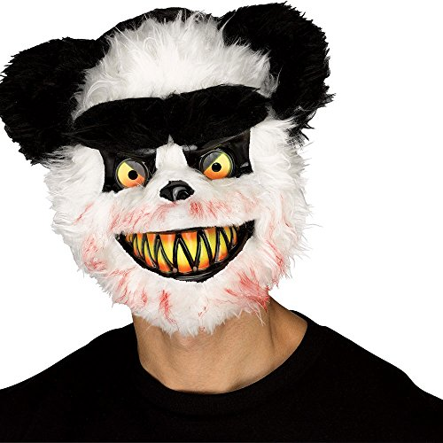Killer Panda Costume (Adult Killer Panda Halloween Mask)