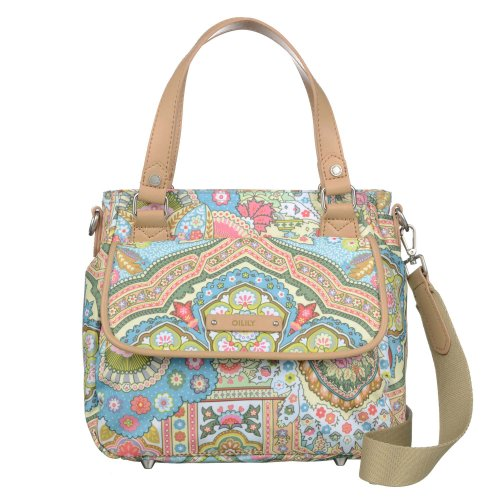 Oilily Spring Ovation Handtasche S (Small) Handbag in 6 Farben, Farbe:Canal Blue