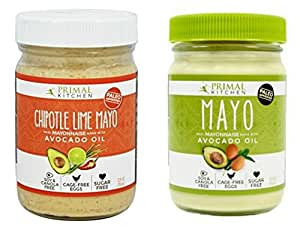 Primal Kitchen - Mayo Combo Pack (Original and Chipotle Lime) 12 fl.oz each