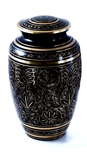 Funeral Cremation Urn for Human or Pet A - Gold Enameled Star Shopping Results