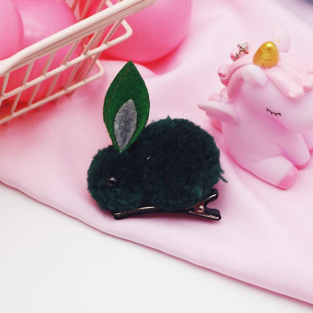 Frcolor 6 st/ücke Kaninchen Haarspange Bunny Headdress Party Cosplay Kost/üm Haarschmuck f/ür Kinder Kinder M/ädchen
