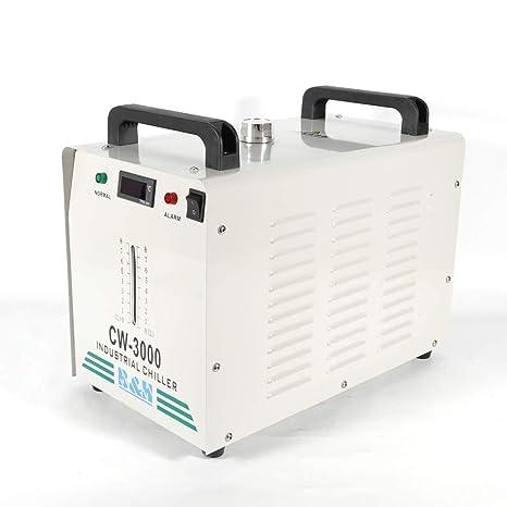 PRIT2016 9L Agua Enfriador Industrial 10L/min de Agua Chiller Enfriador para CNC láser de