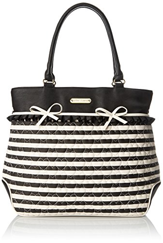 Betsey Johnson Moms The Word Tote Shoulder Bag, Black, One Size by Betsey Johnson