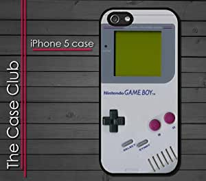 iPhone 5C (New Color Model) Rubber Silicone Case - Gameboy handheld nintendo retro game device