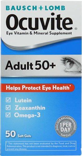 Occuvite® Adult 50+ - Eye Vitamin Supplement - 30 IU / 150 mg Strength - Softgel - 50 per Bottle-McK