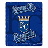 The Northwest Company MLB Kansas City Royals Wicked Printed Fleece Throw, 50 x 60-inches