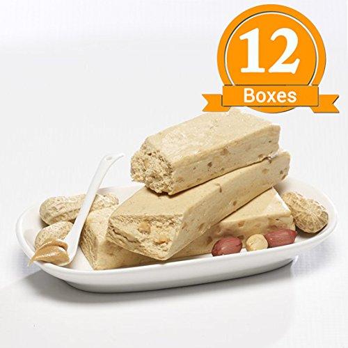 ProtiWise - Peanut Batter Nougat High Protein Diet Bars (12 Boxes)