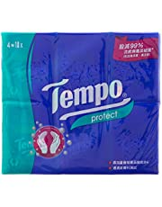 Tempo 4 Ply Petit Protect Hanky, 7 count (Pack of 18)
