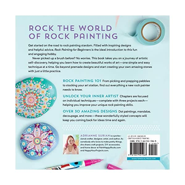 Rock-Painting-For-Beginners-Simple-Step-by-Step-Techniques-Paperback–July-2-2019