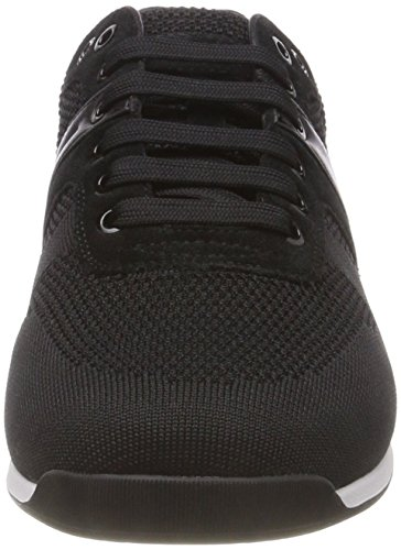 Herren Schwarz knit2 BOSS Sneaker 001 Maze Black Lowp dtwwXT