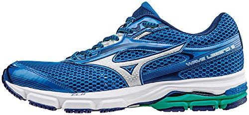 Mizuno Wave Scarpa Running Chaussures Legend 3-Royal Vert