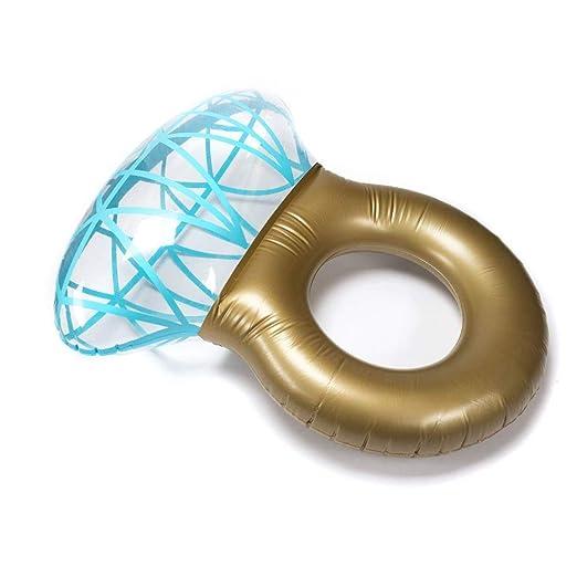 STARKWALL Extra Grueso Inflable Diamante Anillo Piscina ...