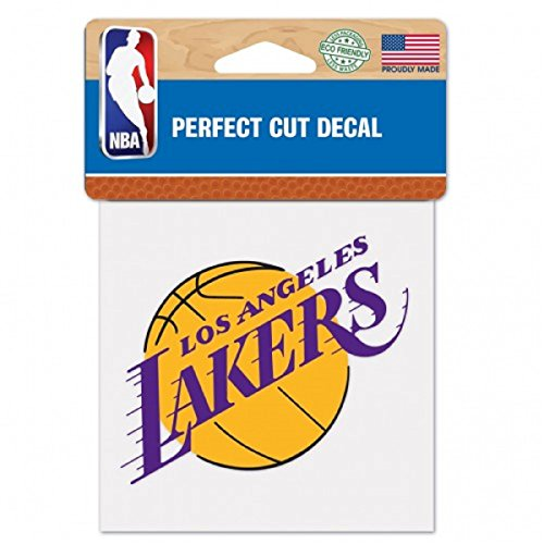 WinCraft NBA Los Angeles Lakers Perfect Cut Color Decal, 4
