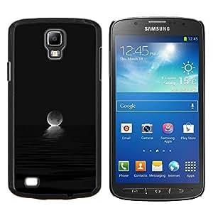 """S-type Moon Ocean Set Oscuro Negro"""" - Arte & diseño plástico duro Fundas Cover Cubre Hard Case Cover For Samsung Galaxy S4 Active i9295"""