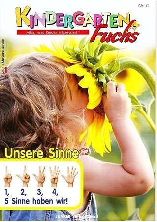 Kindergarten-Fuchs - Lernheft inkl Arbeitsblätter Nr 71: Unsere ...