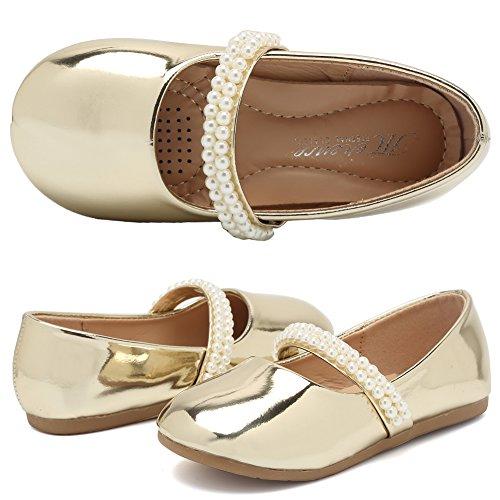 CIOR Girls Ballet Flats Shoes Ballerina Bowknot Jane