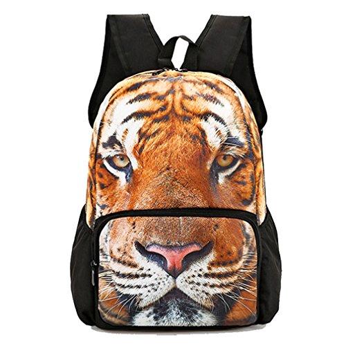 School Backpack 3D Animal Print