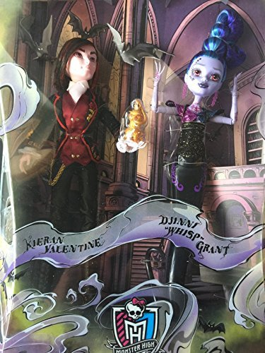 Monster High Kieran Valentine & Djinni Whisp Grant