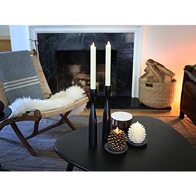 Luminara Pine Cone Candles: 3.5