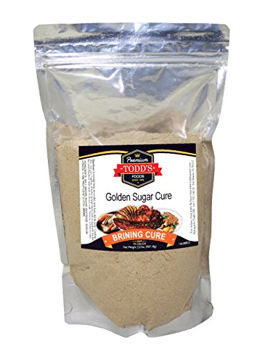 Dry Brown Sugar - Sugar Cure (Golden) 2 lbs. Yield 1 ham, 1 turkey, 1 chicken or choice of meat to brine.