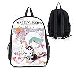 Dreamcosplay Puella Magi Madoka Magica QB Logo Backpack Student Bag Cosplay