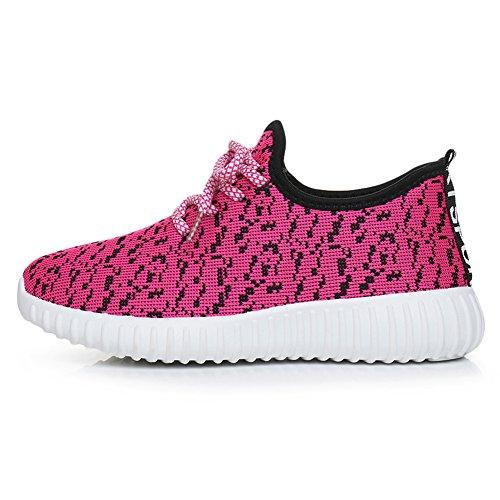 Mannen Vrouwen Unisex Paar Casual Mode Sneakers Ademende Atletische Sportschoenen Roze Fleece