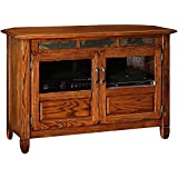 Leick 89046 Riley Holliday Rustic Oak 46 in. TV Console