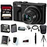 Panasonic Lumix DMC-ZS60 18MP 4K Digital Camera (Black) (Battery Travel Pack 64GB Bundle) Review