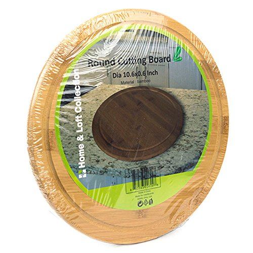 Show 10.5 Inch Premium Solid Bamboo Cutting Board Serving Tray | CB2000 price